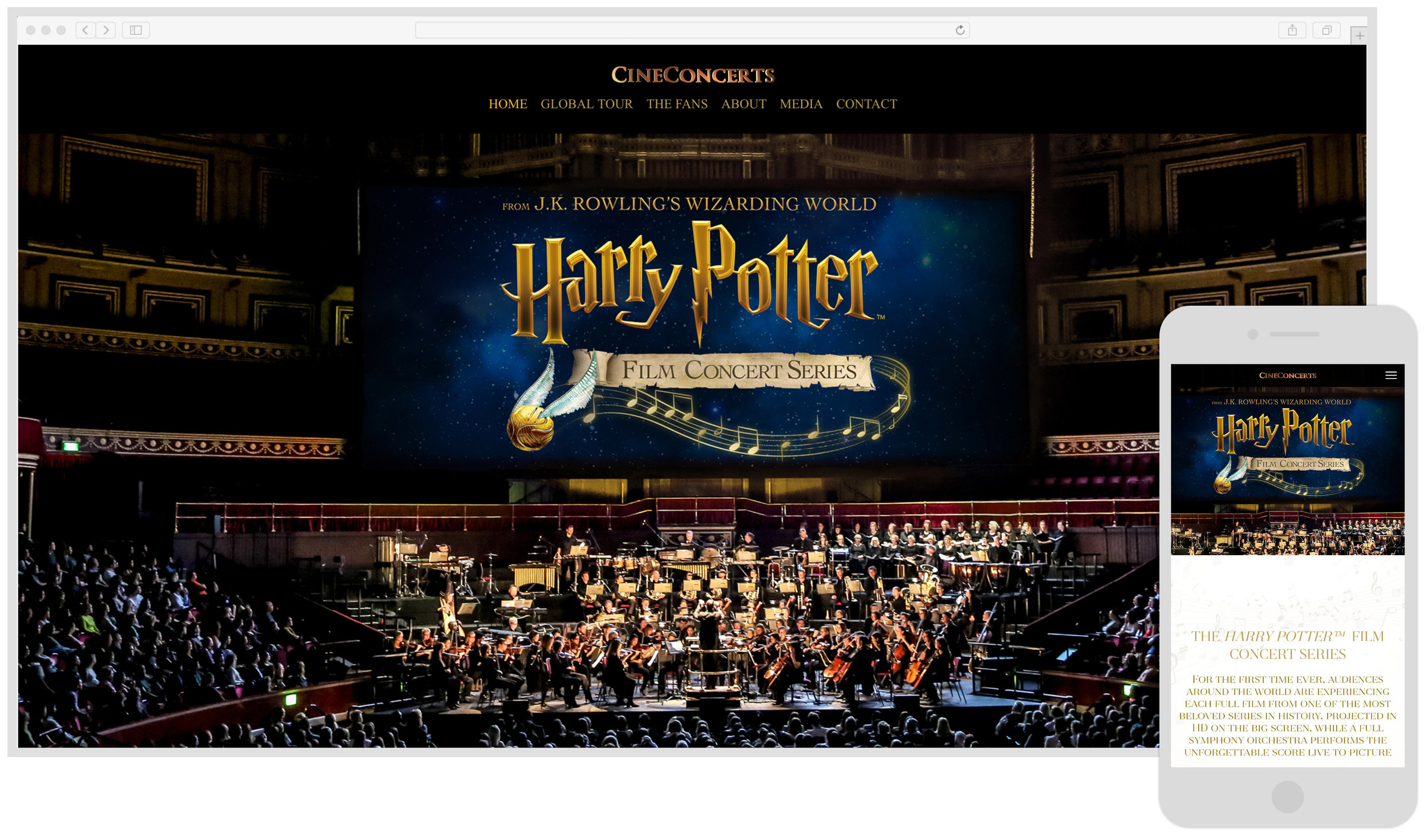 Cineconcerts - Harry Potter Series