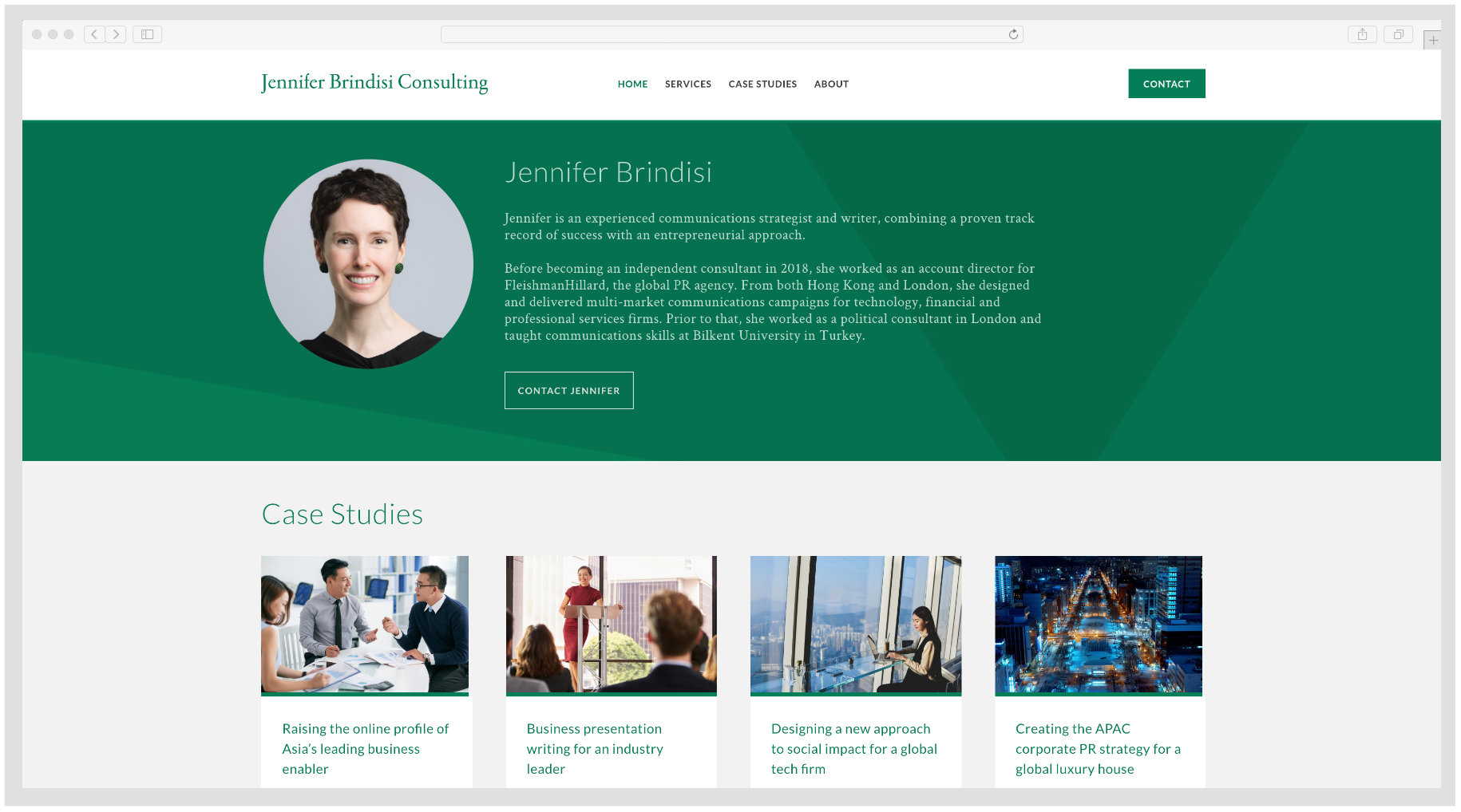 Jennifer Brindisi - Business Consultant. Asia