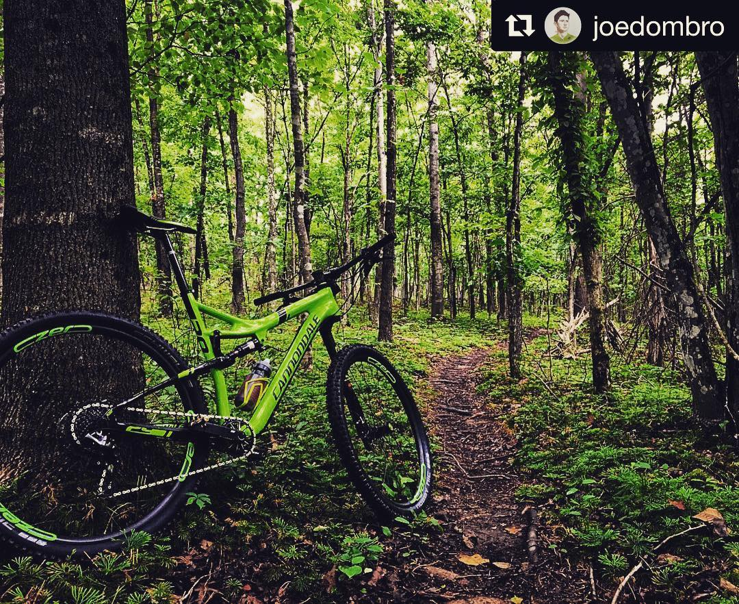 """Probably more fun than the Tour"" @joedombro #mtnbikes #cannondale #cannondalelefty #tourdefrance  http://ift.tt/29EVFMY"