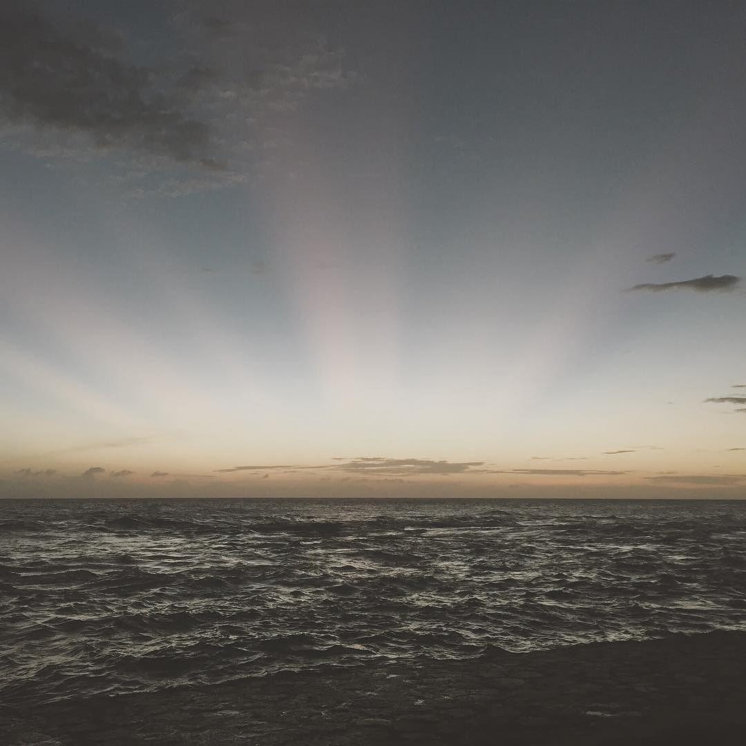 Last sunset of vacation  http://ift.tt/1UL7uSI
