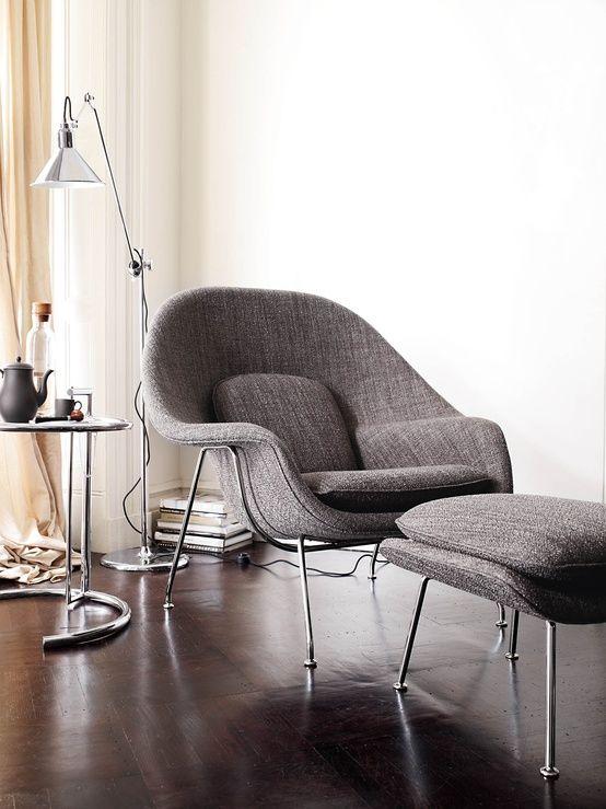 urbnite :      Womb Chair by Eero Saarinen