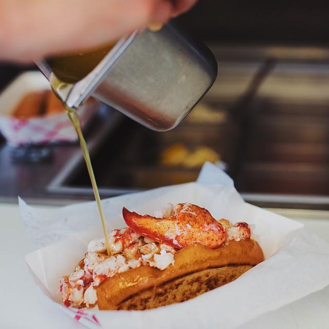 A Portland power lunch at @BiteIntoMaine. (Photo: @henrysp) #LobsterRoll #LobstahRoll by gearpatrol  http://ift.tt/1GwvZOC