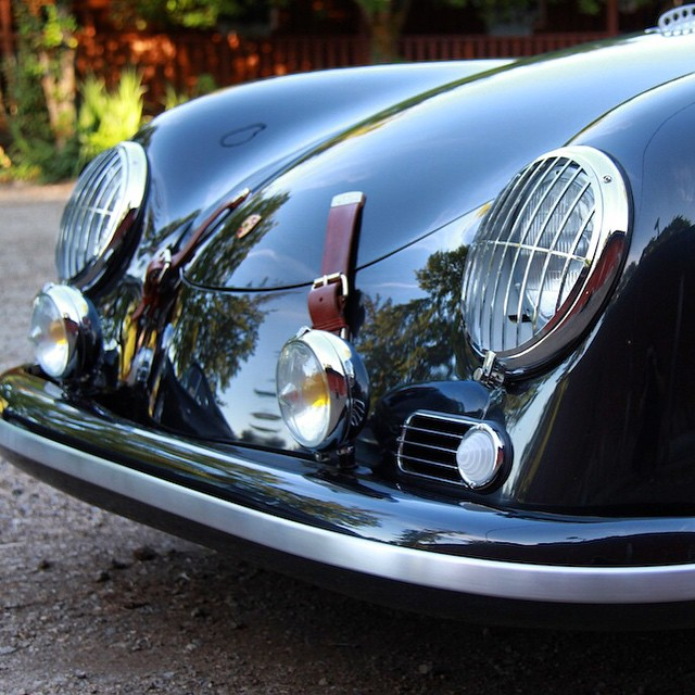 Another black 356 but very different trim and detailed #EmoryOutlaw #porsche by rodemory  http://ift.tt/1Iy0X8t