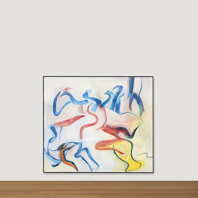 """#HBD Willem #deKooning! The artist was born on this day in 1904. This 1983 painting, """"Untitled X,"""" will be offered in our May 13 Post-War + Contemporary Evening sale. #willemdekooning by christiesinc  http://ift.tt/1HC9yZL"""