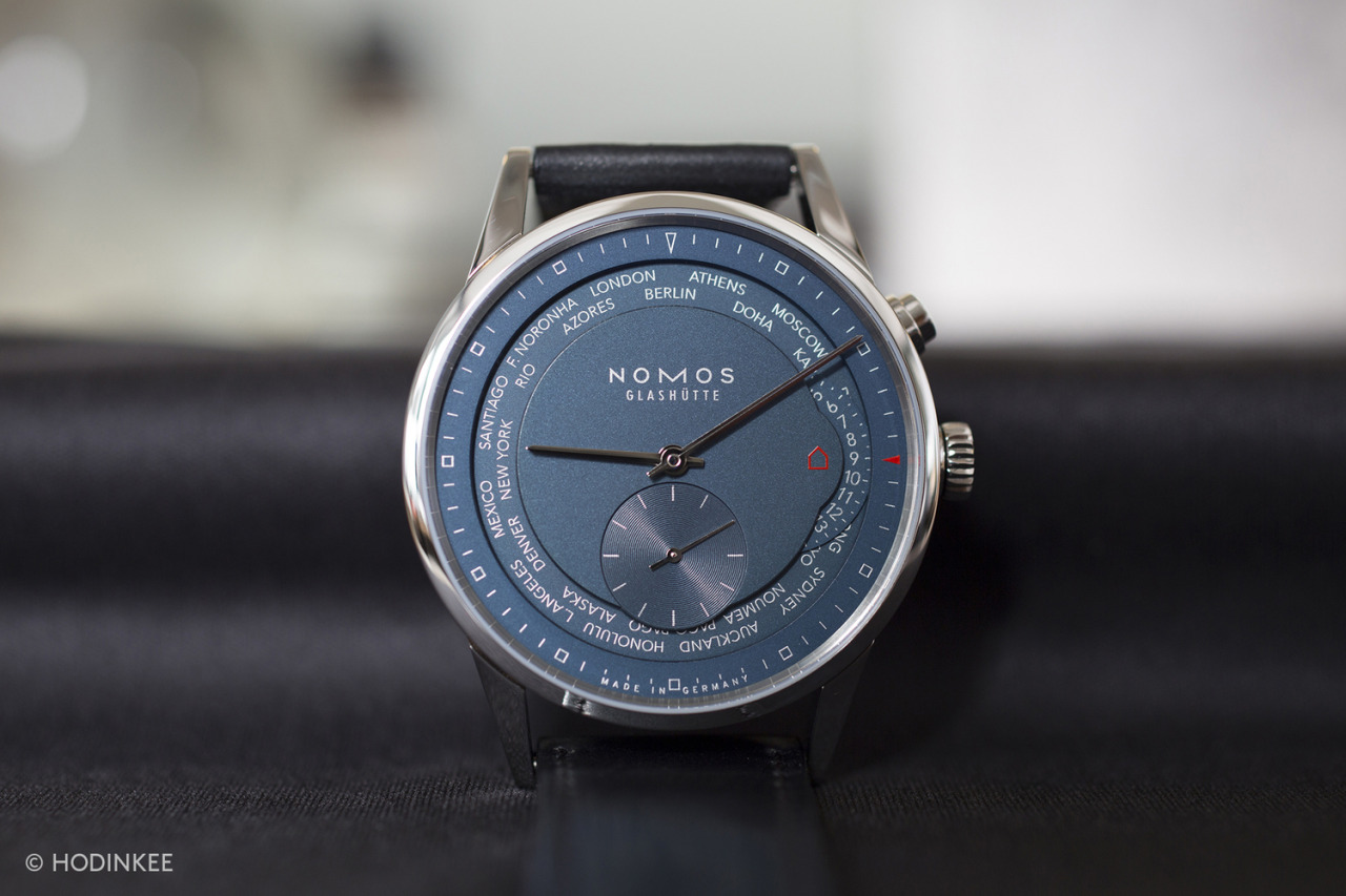 Into the Nomos world timer.