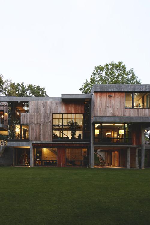 livingpursuit :      Concrete Home |  Narofsky Architecture