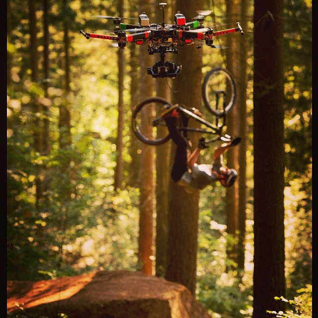 blackboxlabs :     Thx @christophlaue for the shot!  2 days left… Well stoked to finally be seeing the video to go online!  #gtbicycles #xspowerdrink #tsg #srammtb #mavic #acros_components #sdg #maxxis #itw3 @lukastielke_peoplegrapher