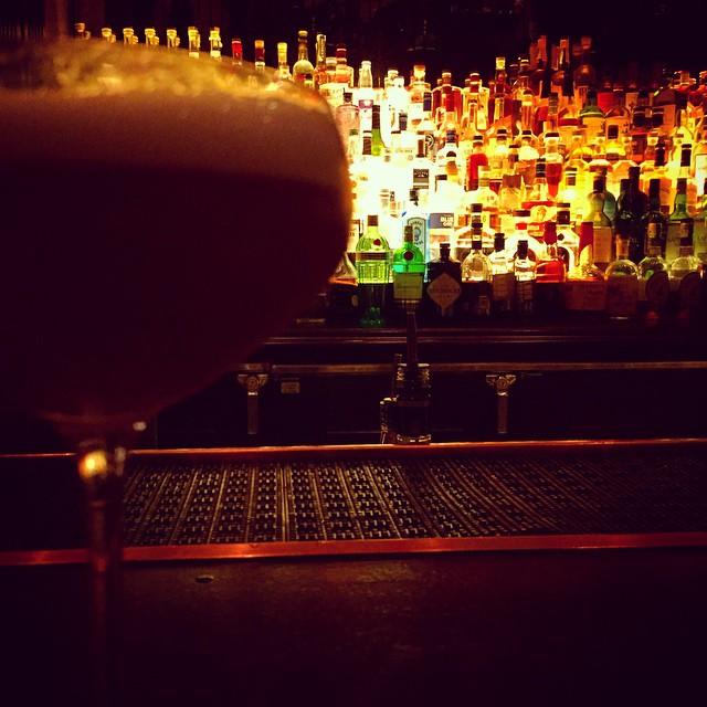 "Just had the best cocktail of my life. ""Scotch Dumpling"" islay scotch, apple brandy, black pepper, lemon, egg white 😍 by kevinrose  http://ift.tt/1vXFdtC"