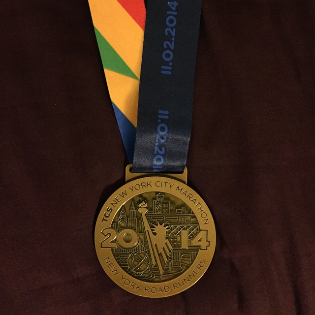 Done! Nyc marathon over, now I can ride the crap out of my bicycle! by johnnyocyclist  http://ift.tt/1GeBdxn