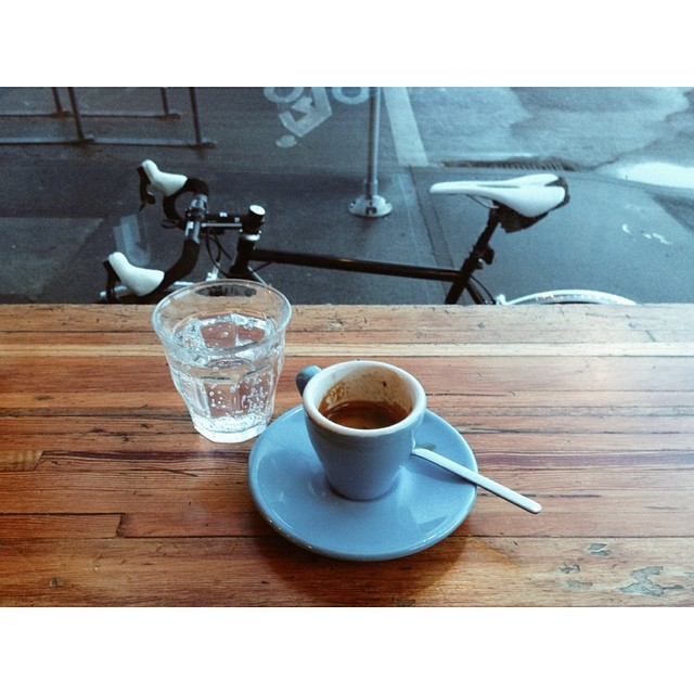 Birthday ride!   #morningslikethese #vscocam #ciclismo #stumptowncoffee #nolifelikethislife by jakeszy  http://ift.tt/1ibXQIO