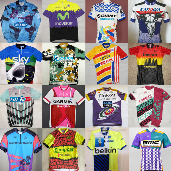 cadenced :      Speed Metal Cycling  take an alternative look at UCI World Tour team jerseys.