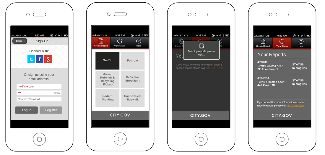 City of Cambridge Mobile application