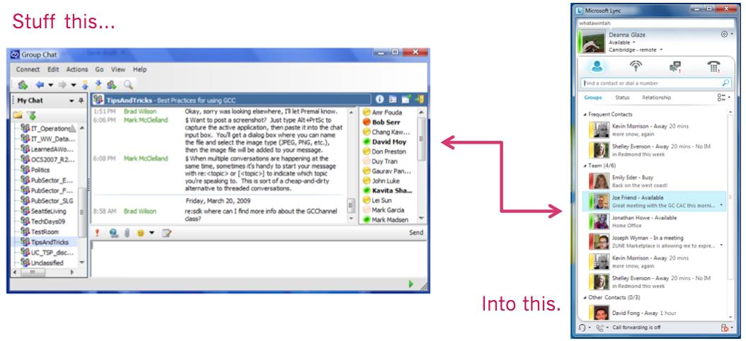 Microsoft Group Chat