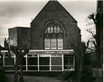 The Priory Theatre in 1976