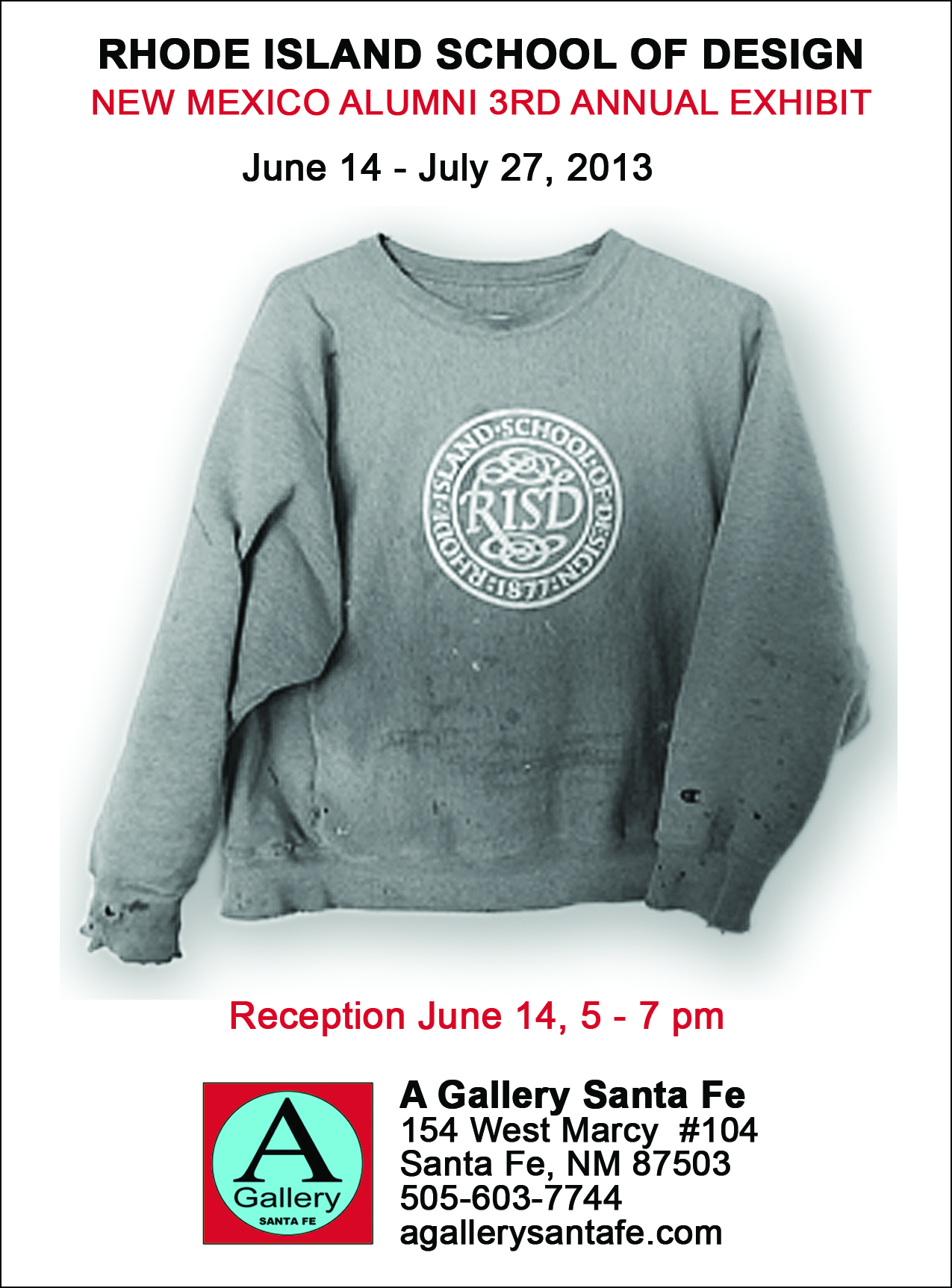 RISD/Alumni ad for June issue of THE