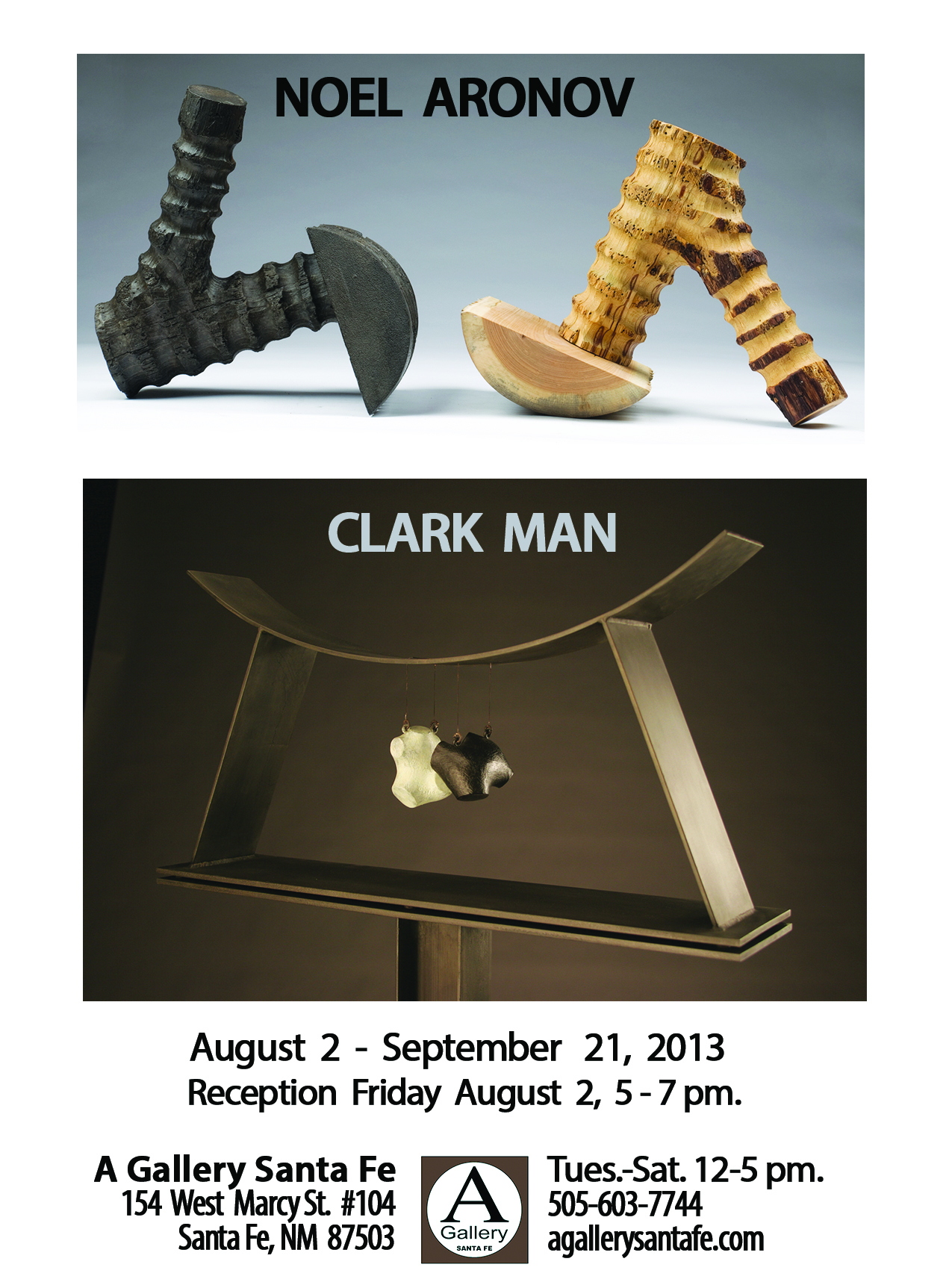 Aronov - Man ad for the August issue of THE