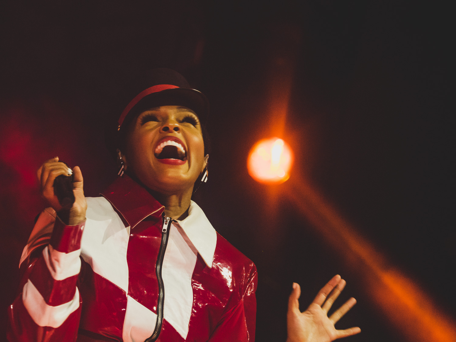 Janelle Monáe at Music Tastes Good, Long Beach, CA