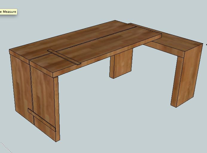 2012 New American Desk 3dv.