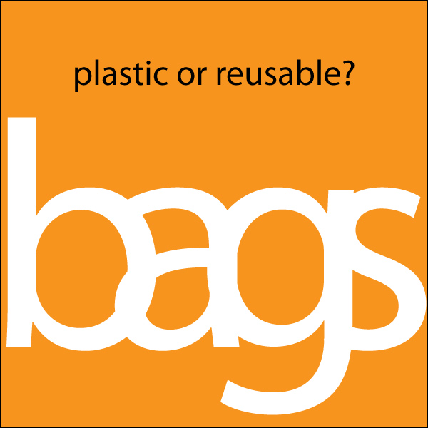 plastic or reusable bags