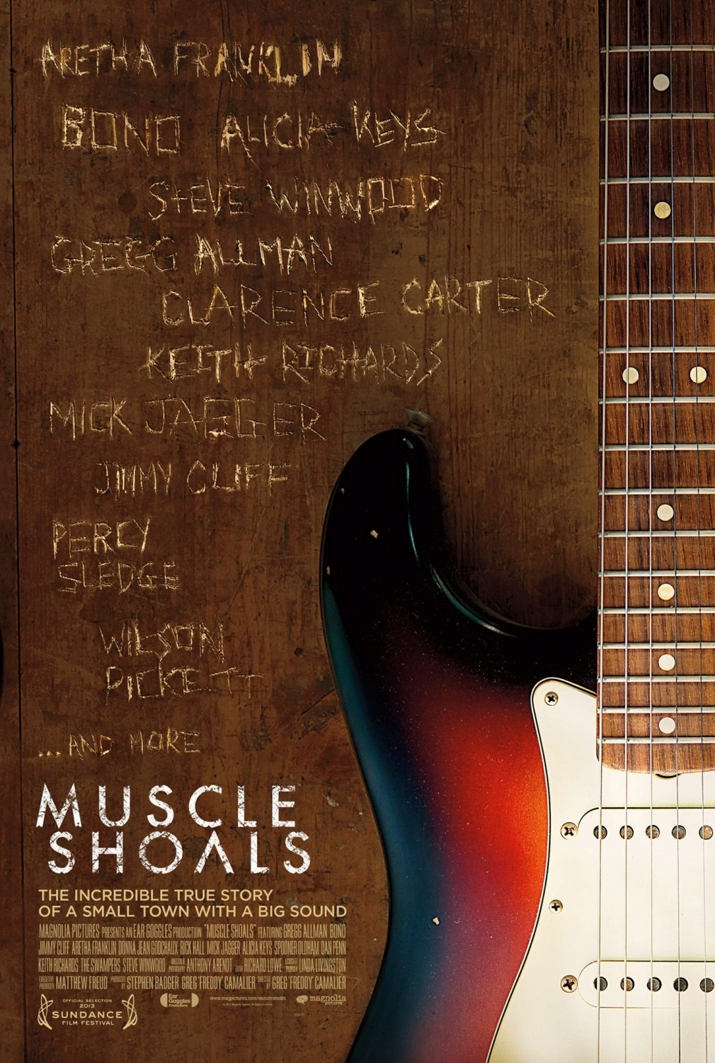 The Soundtrack to the soon to be released movie - Muscle Shoals was relased on itunes today!