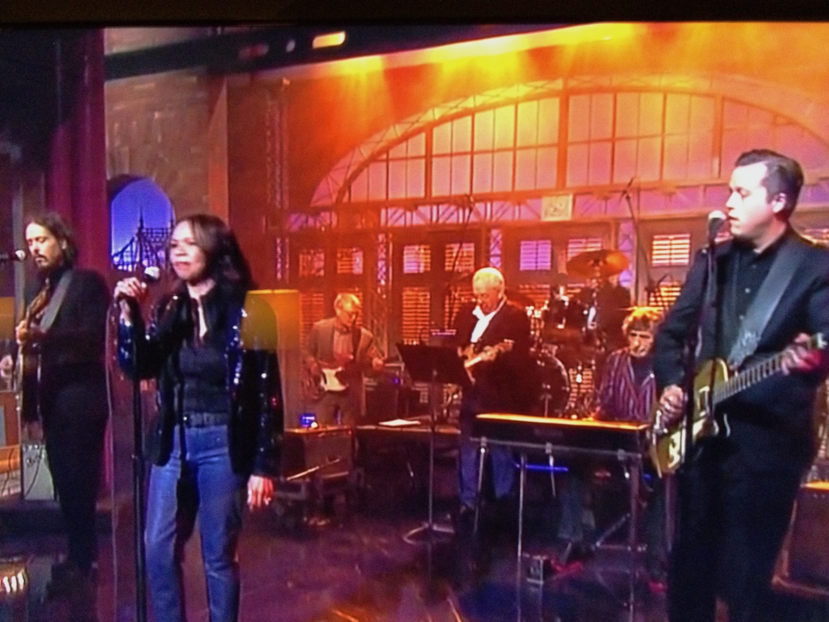 Local Muscle Shoals area musicians perform on Letterman last week.