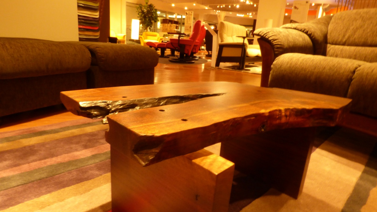 RWF now showing in the Ekornes Showroom at High Point Market.