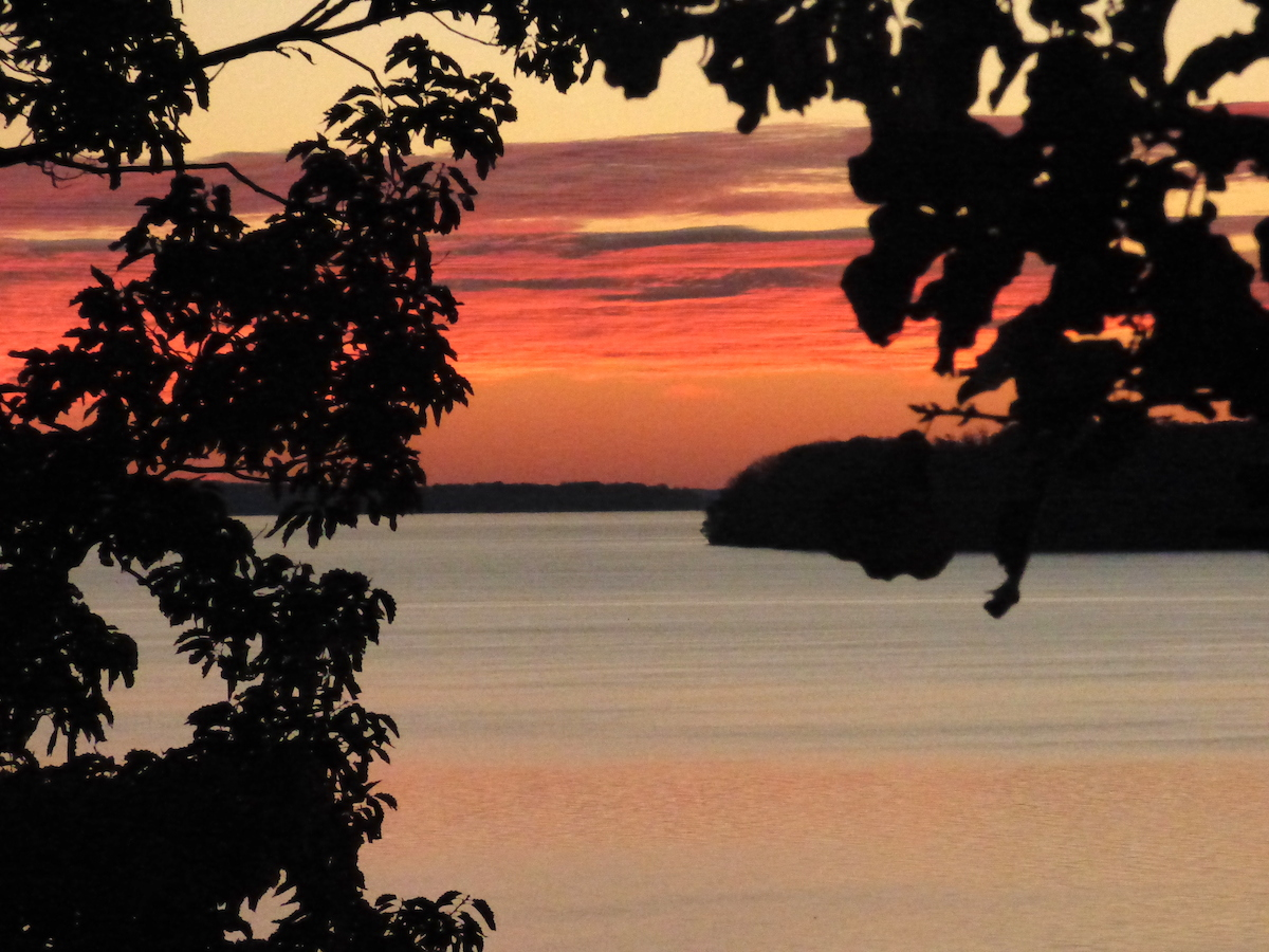 Tuesday morning sunrise, Wilson Lake, Tennessee River, Alabama