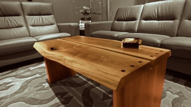 - Two Slab Walnut Coffee Table — Robin Wade Furniture