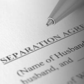 Separation Agreement on Divorce -