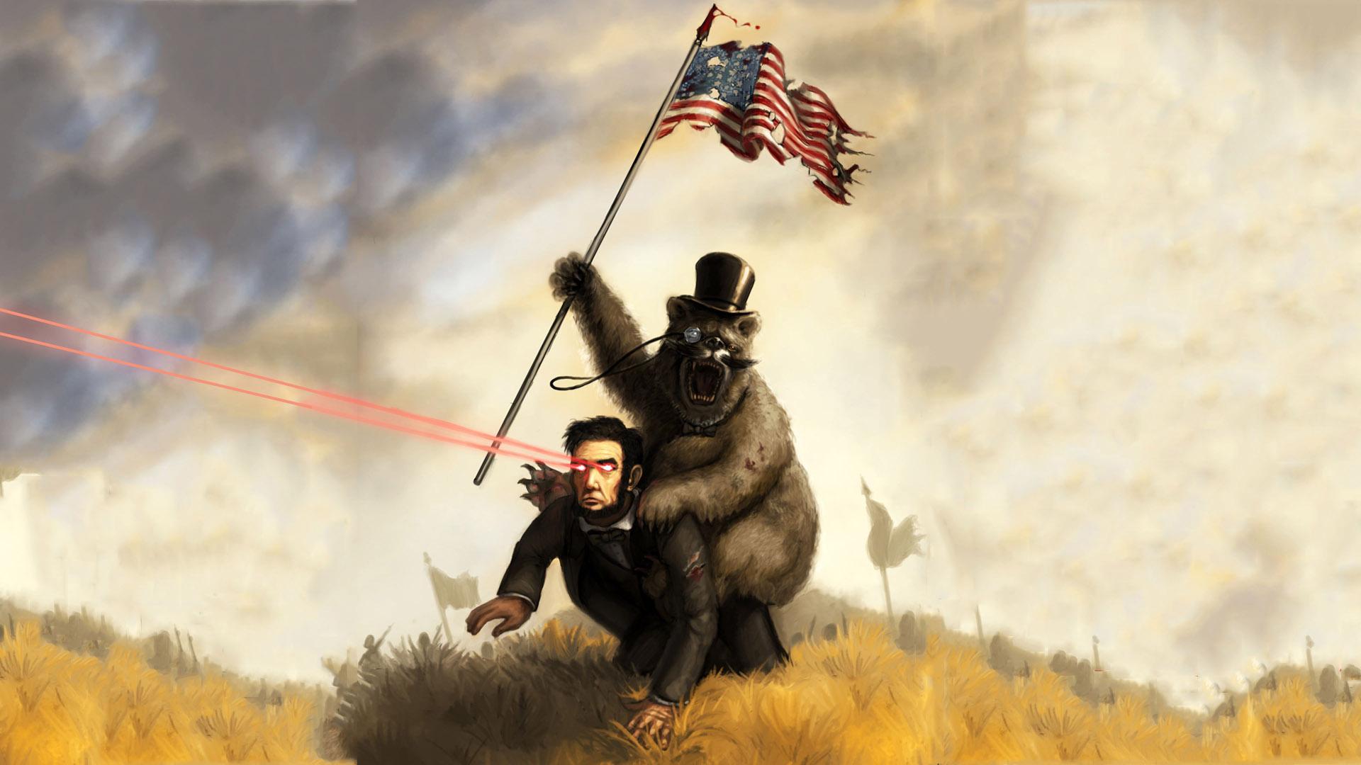 Abraham-Lincoln-funny-flags-bears.jpg