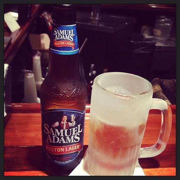 Samuel Adams Boston Lager vía @Jeq9 en Instagram