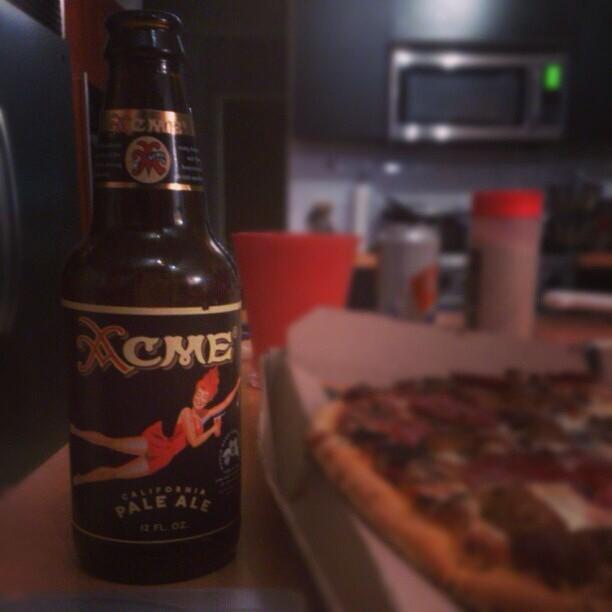 Acme California Pale Ale vía @rdres en Instagram