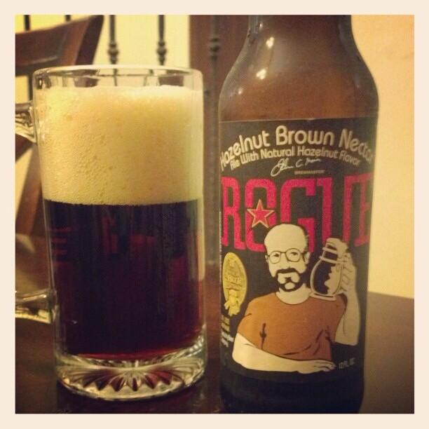 Rogue Hazelnut Brown vía @adejesus80 en Instagram