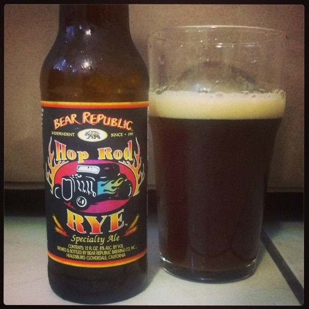 Hop Rod Rye vía @adejesus80 en Instagram