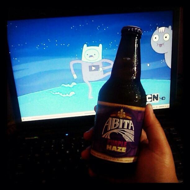 Abita Purple Haze vía @msrigby en Instagram