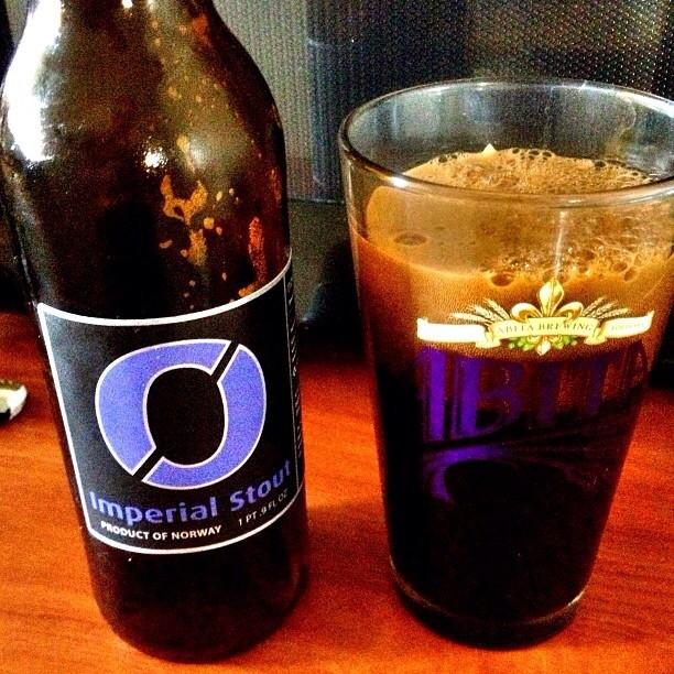 Nøgne Imperial Stout vía @ramon920 en Instagram