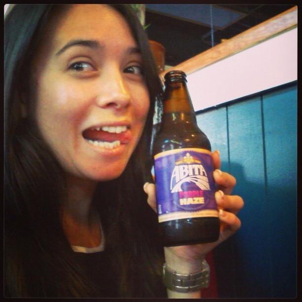 @biancasoto y una Abita Purple Haze en Instagram