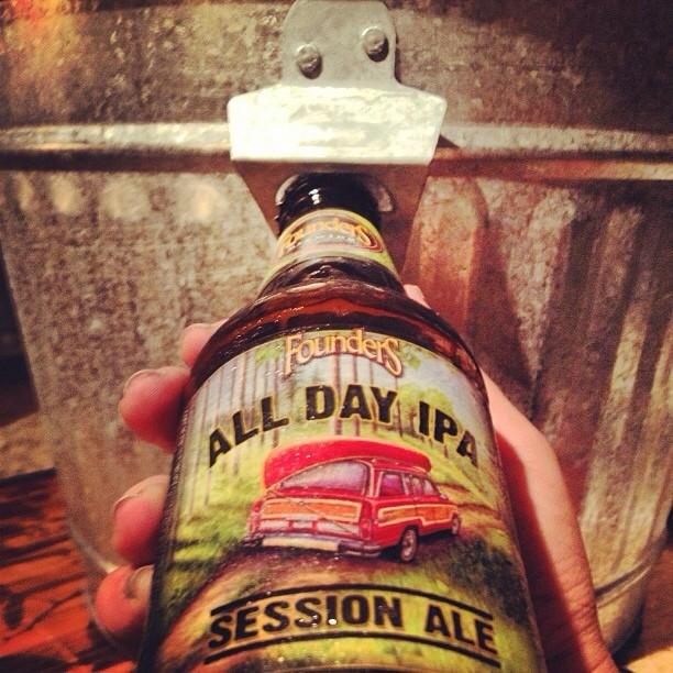 Founders All Day IPA Session Ale vía @nataliaperez8 en Instagram