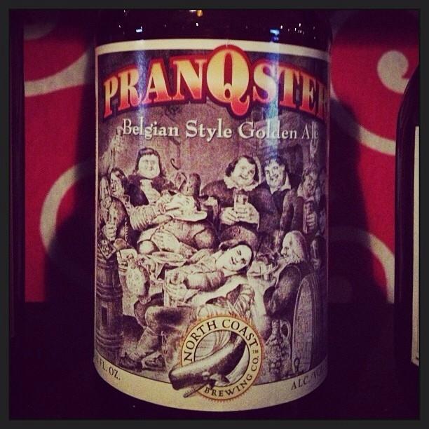 Pranqster Belgian Style Golden Ale vía @Msdedo en Instagram