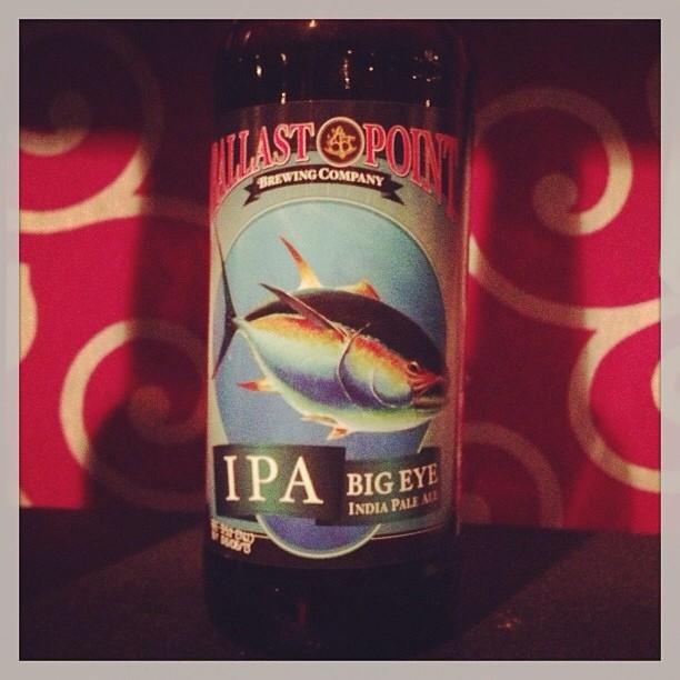 Ballast Point Big Eye IPA vía @Msdedo en Instagram