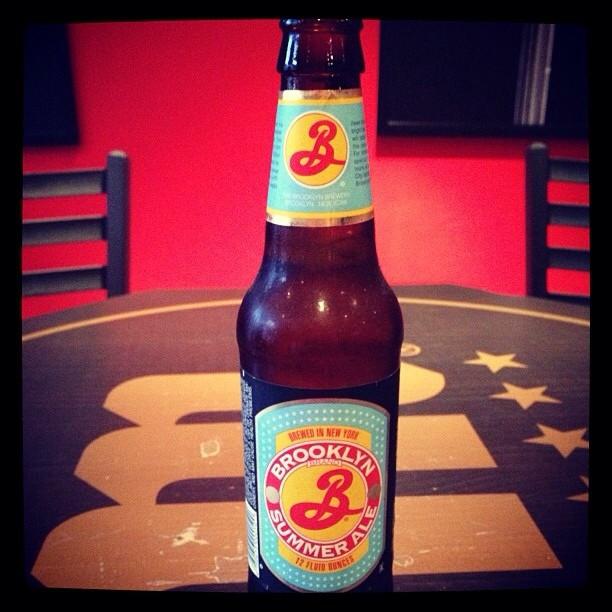 Brooklyn Summer Ale vía @Sunnygirlpr en Instagram
