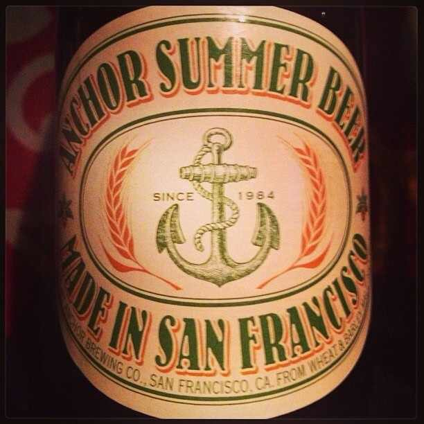 Anchor Summer Beer vía @msdedo en instagram