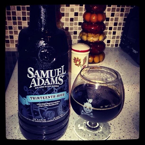 Samuel Adams Thirteen Hour vía @lmiguepr en Instagram