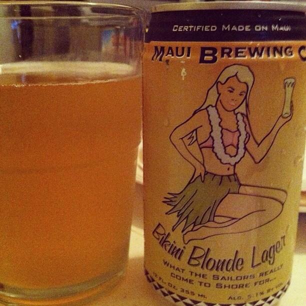 Bikini Blonde Lager vía @ashi274 en Instagram