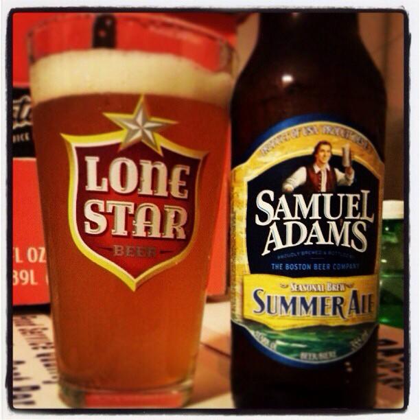 Samuel Adams Summer Ale vía @bierontap en Instagram