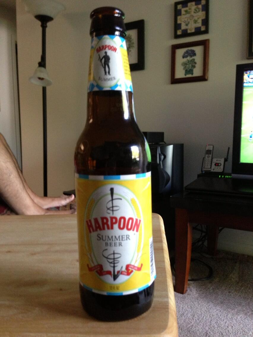 Harpoon Summer Beer vía @lahomar en Twitter