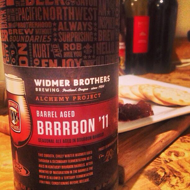 Barrel Aged Brrrbon vía @miguelrios en Instagram