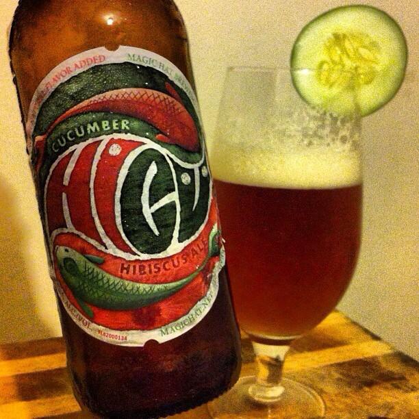 Magic Hat Hibiscus Ale vía @apaman8 en Instagram