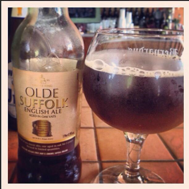 Olde Suffolk English Ale vía @syldiaruth en Instagram