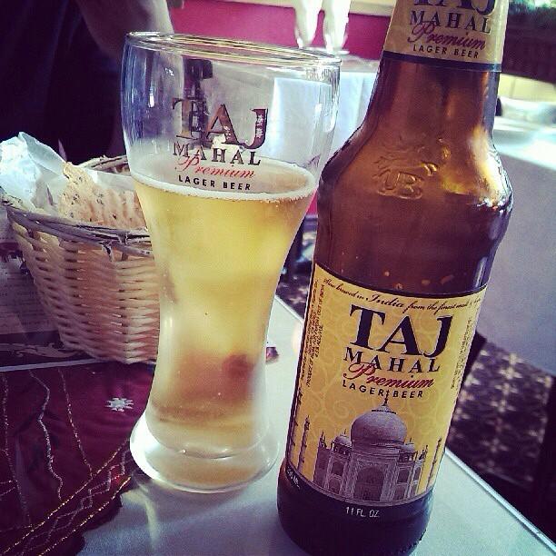@izqrdo comparte una Taj Mahal Premium Lager desde Vancouver